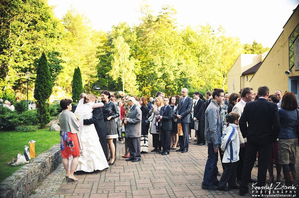 Ślub Doroty i Mateusza - fotografia ślubna Gdańsk, wesele Hotel Amber, ślub w Matemblewie - 40.