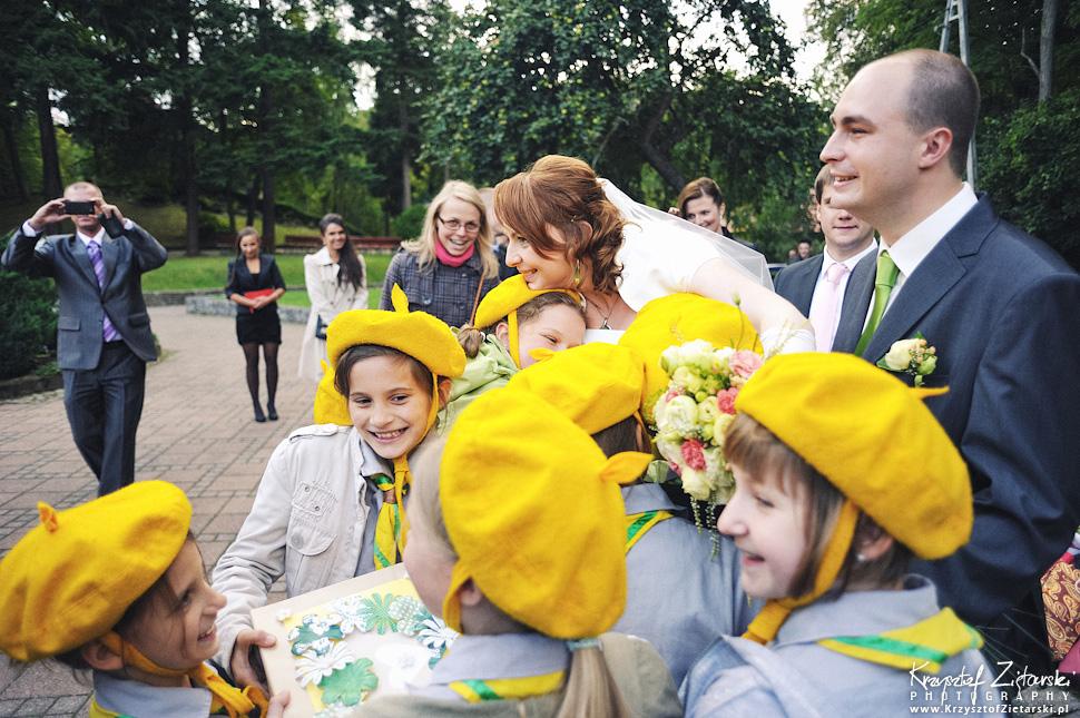 Ślub Doroty i Mateusza - fotografia ślubna Gdańsk, wesele Hotel Amber, ślub w Matemblewie - 44.