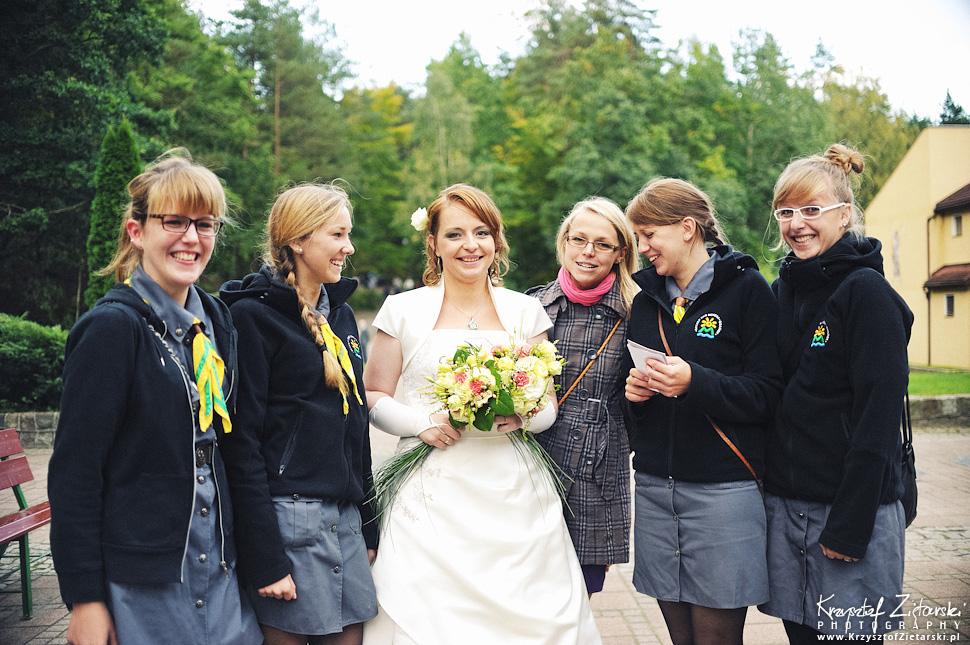 Ślub Doroty i Mateusza - fotografia ślubna Gdańsk, wesele Hotel Amber, ślub w Matemblewie - 45.