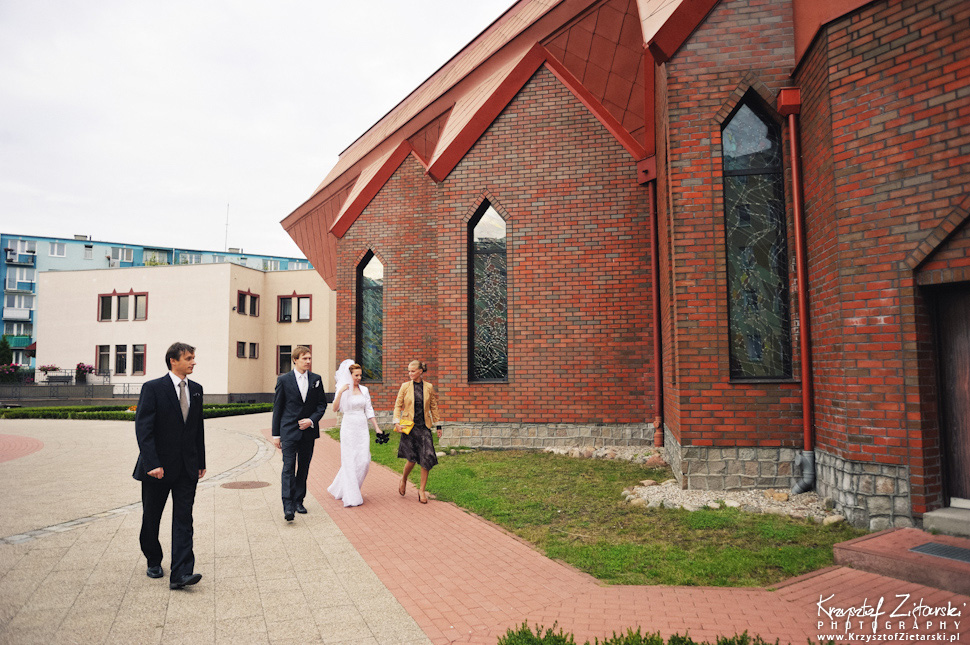 Ślub Oli i Romana - fotografia ślubna Gdańsk, wesele Chata Myśliwska Straszyn - 2.