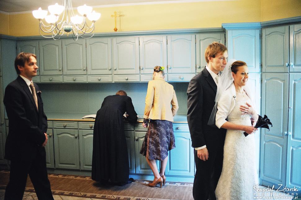 Ślub Oli i Romana - fotografia ślubna Gdańsk, wesele Chata Myśliwska Straszyn - 4.