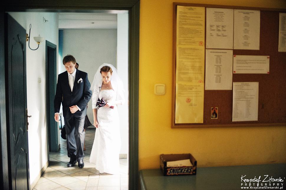 Ślub Oli i Romana - fotografia ślubna Gdańsk, wesele Chata Myśliwska Straszyn - 7.
