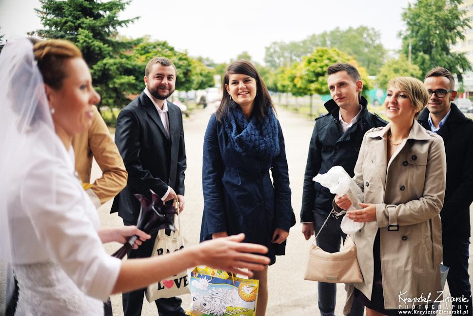 Ślub Oli i Romana - fotografia ślubna Gdańsk, wesele Chata Myśliwska Straszyn - 9.