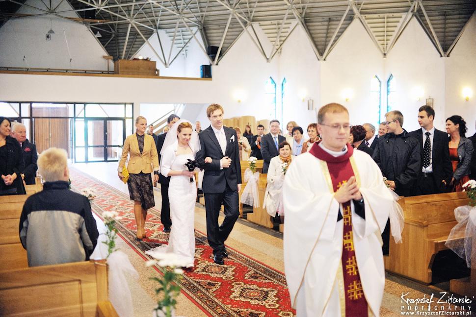 Ślub Oli i Romana - fotografia ślubna Gdańsk, wesele Chata Myśliwska Straszyn - 12.