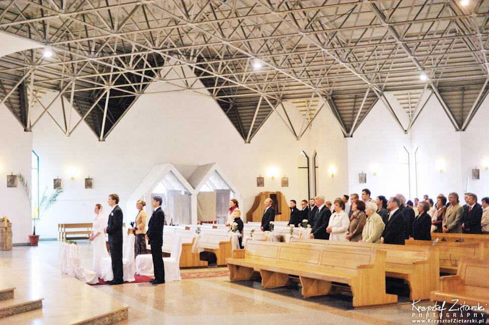 Ślub Oli i Romana - fotografia ślubna Gdańsk, wesele Chata Myśliwska Straszyn - 13.
