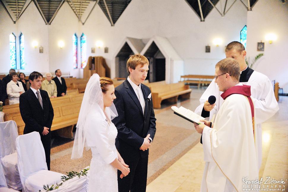 Ślub Oli i Romana - fotografia ślubna Gdańsk, wesele Chata Myśliwska Straszyn - 16.