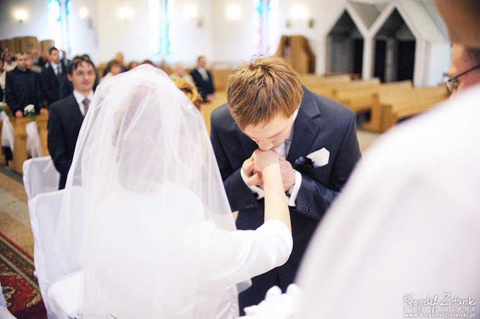 Ślub Oli i Romana - fotografia ślubna Gdańsk, wesele Chata Myśliwska Straszyn - 22.