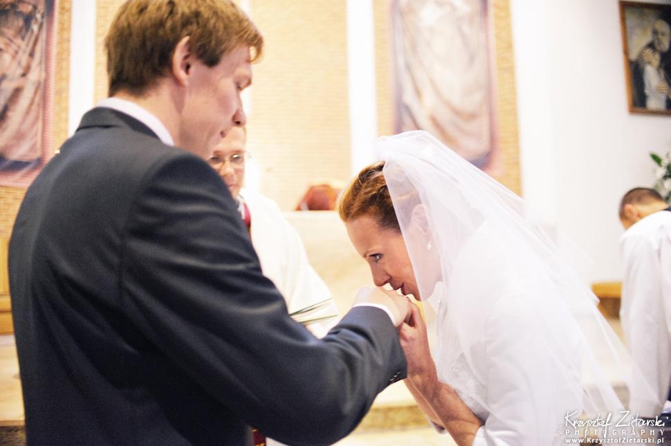 Ślub Oli i Romana - fotografia ślubna Gdańsk, wesele Chata Myśliwska Straszyn - 24.