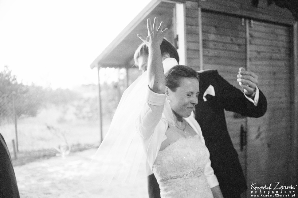 Ślub Oli i Romana - fotografia ślubna Gdańsk, wesele Chata Myśliwska Straszyn - 43.