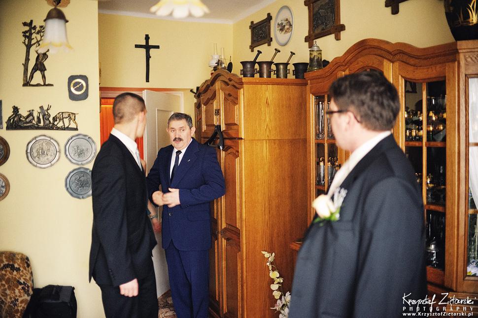 Ślub Kasi i Szymona - fotografia ślubna Gdańsk - wesele Pod Łabędziem, Kiełpino - 4.