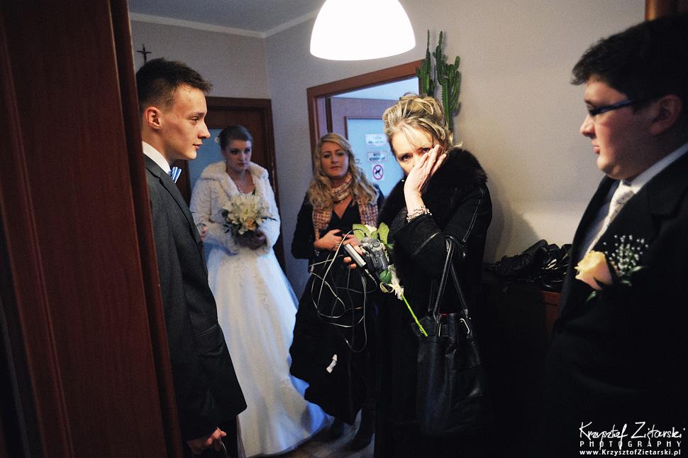 Ślub Kasi i Szymona - fotografia ślubna Gdańsk - wesele Pod Łabędziem, Kiełpino - 14.