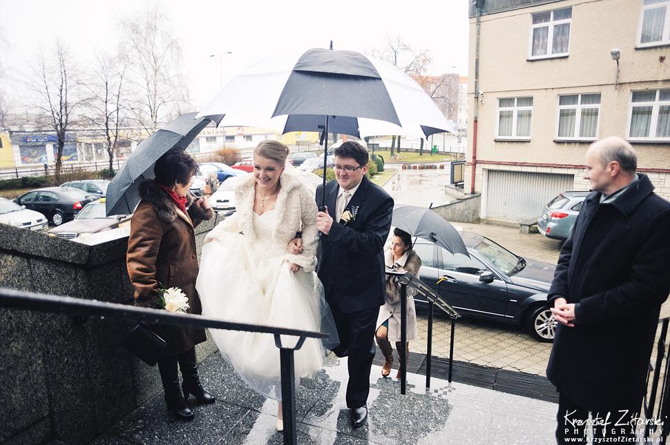 Ślub Kasi i Szymona - fotografia ślubna Gdańsk - wesele Pod Łabędziem, Kiełpino - 16.