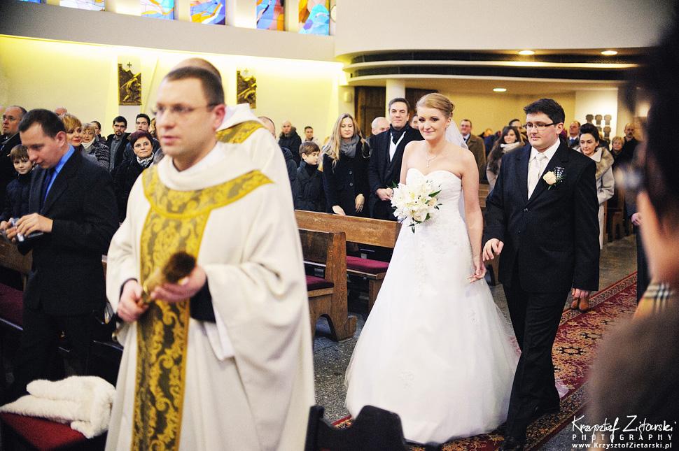Ślub Kasi i Szymona - fotografia ślubna Gdańsk - wesele Pod Łabędziem, Kiełpino - 18.