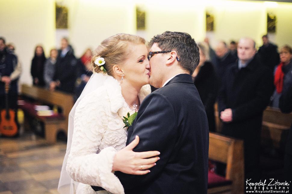 Ślub Kasi i Szymona - fotografia ślubna Gdańsk - wesele Pod Łabędziem, Kiełpino - 30.