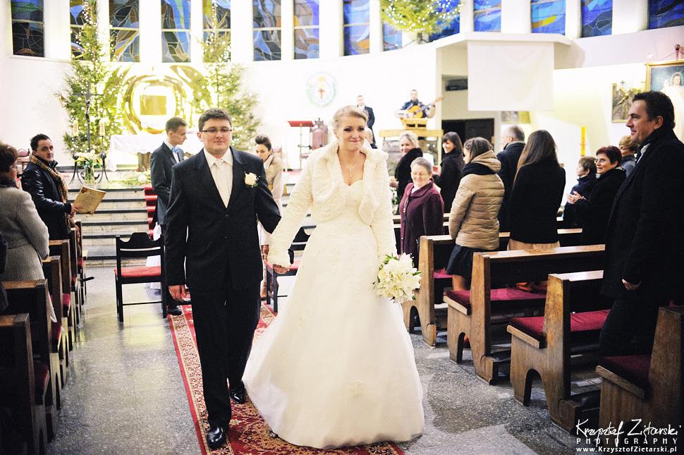 Ślub Kasi i Szymona - fotografia ślubna Gdańsk - wesele Pod Łabędziem, Kiełpino - 34.