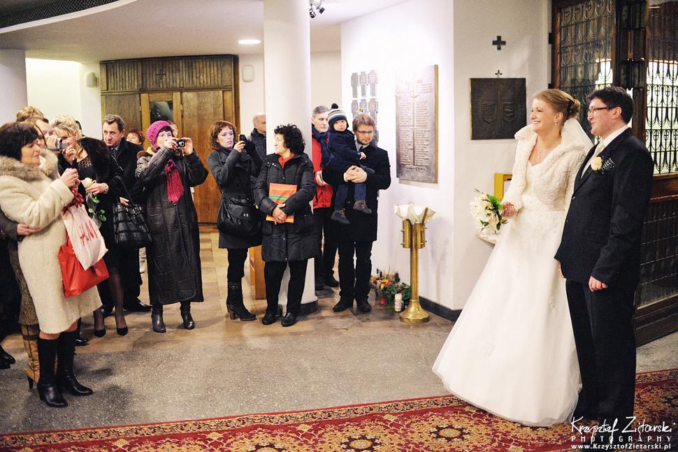 Ślub Kasi i Szymona - fotografia ślubna Gdańsk - wesele Pod Łabędziem, Kiełpino - 35.
